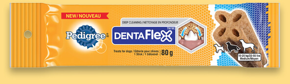 Pedigree Dentaflex A Longer, Deeper Clean